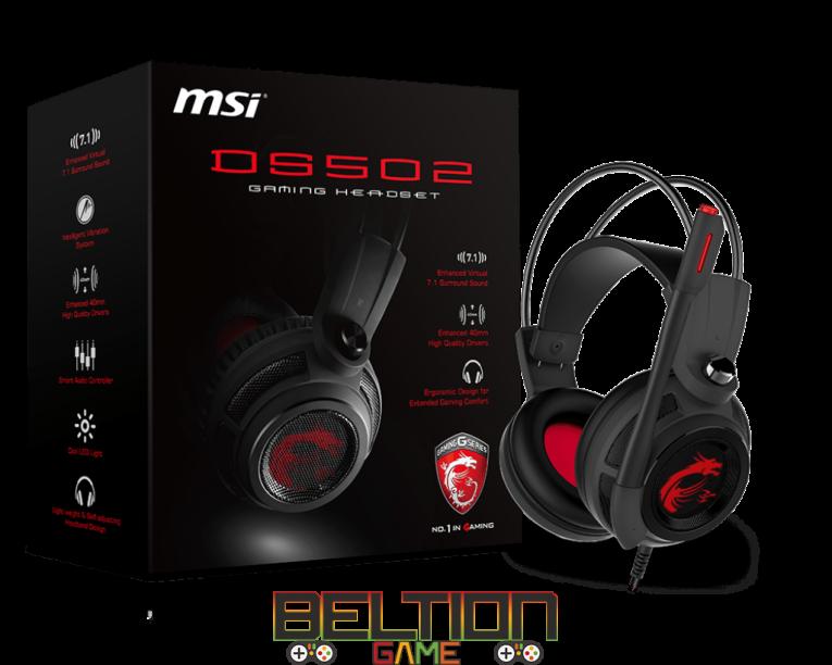 MSI DS502 — многоканального звука много не бывает