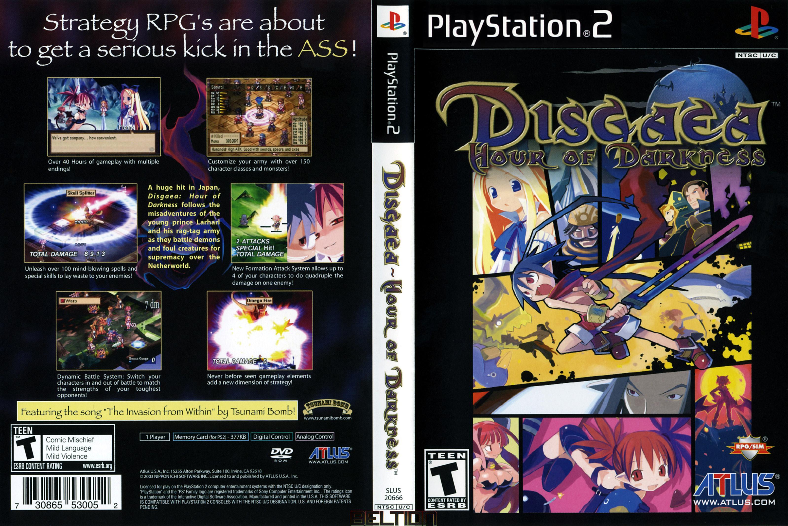 Доработанная версия игры Disgaea выйдет на ПК в следующем году