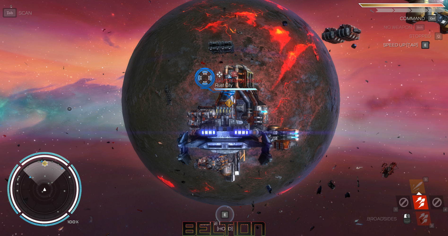 ПОИГРАЛИ REBEL GALAXY-1