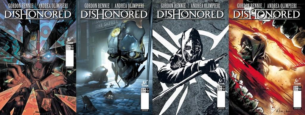В честь выхода Dishonored 2 выпустят серию комиксов