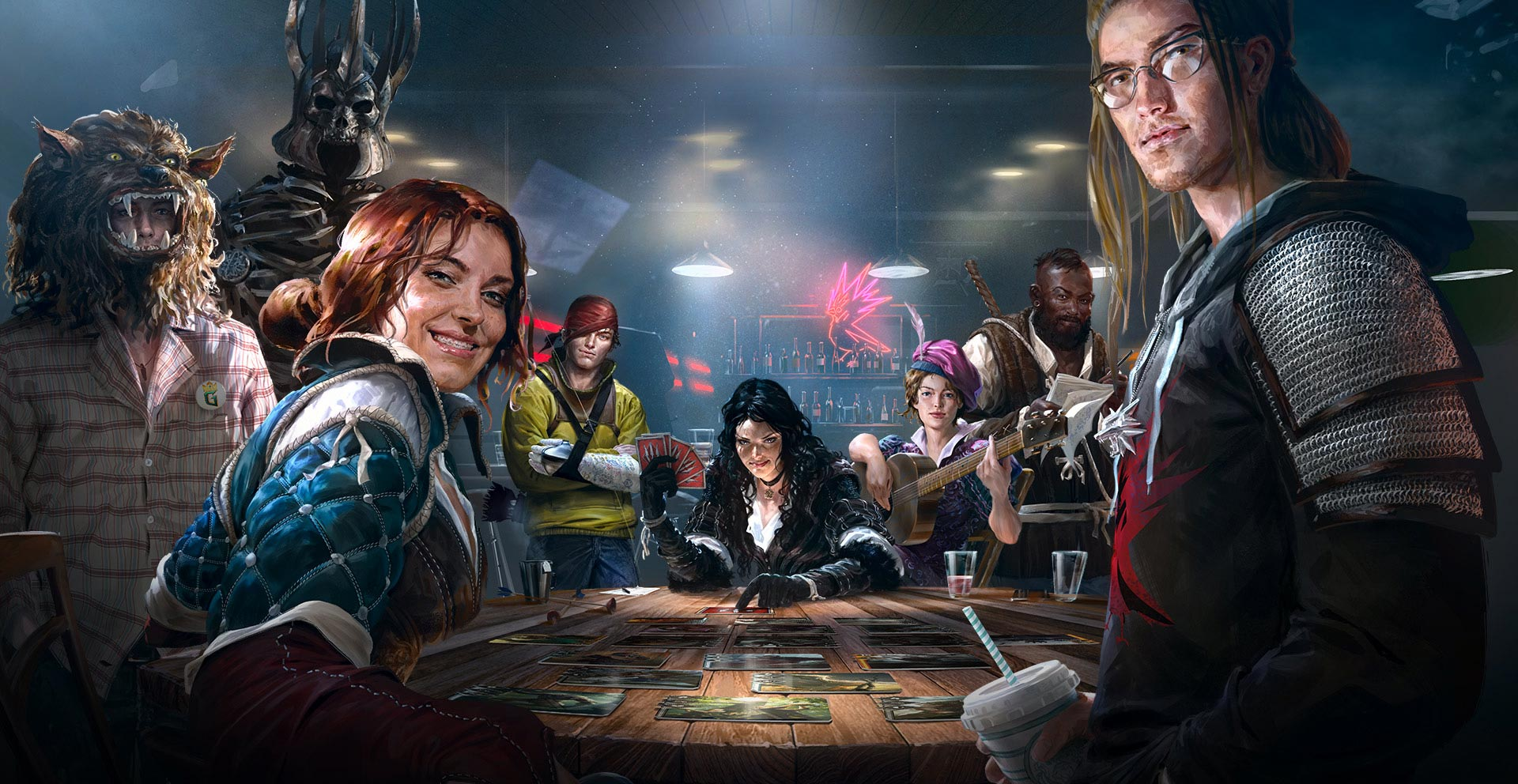 Анонс и геймплей Gwent: The Witcher Card Game