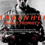 Fahrenheit: Indigo Prophecy идет на PlayStation 4