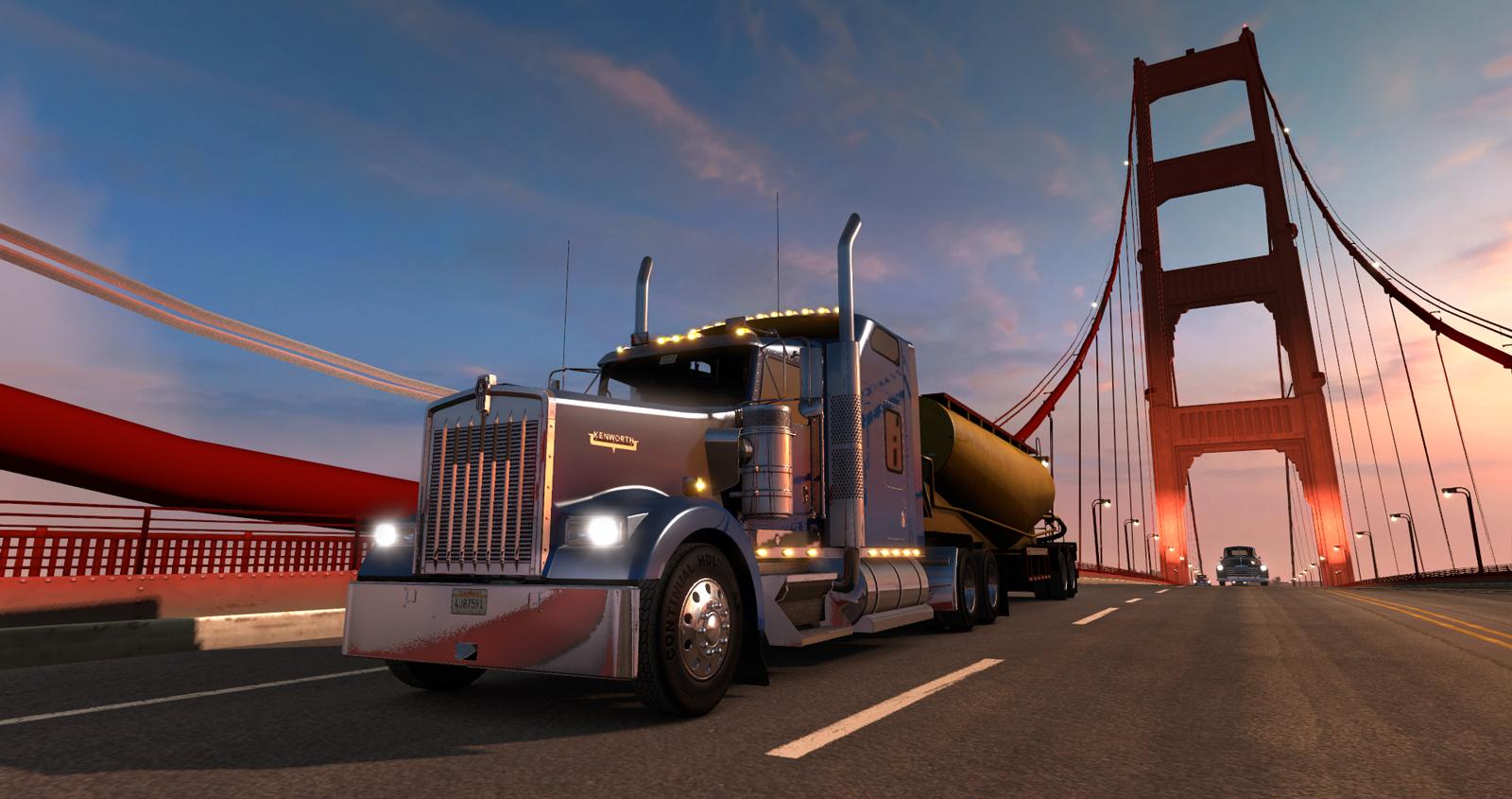 American Truck Simulator получит огромную карту