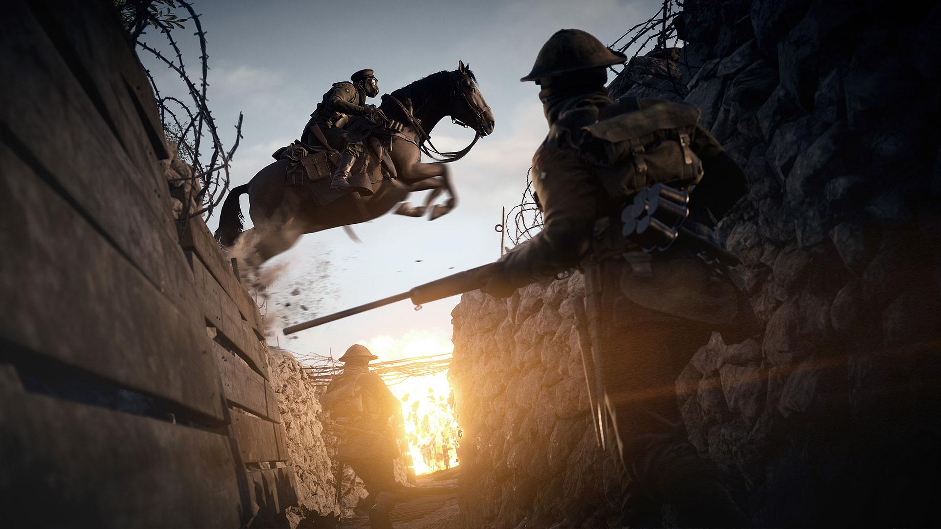 Скоро начнется закрытый альфа-тест Battlefield 1