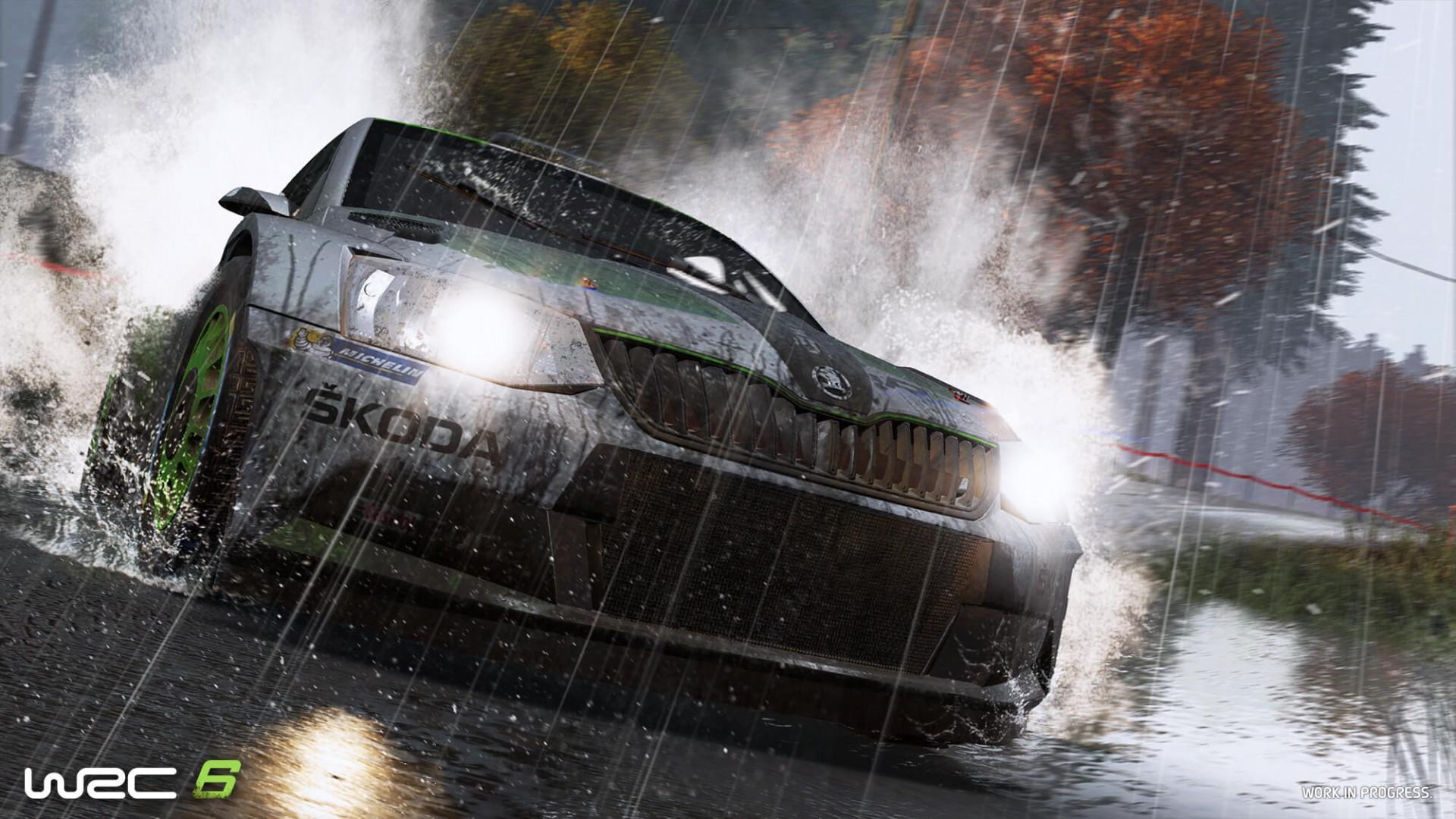 WRC 6 обзавелась дебютным трейлером
