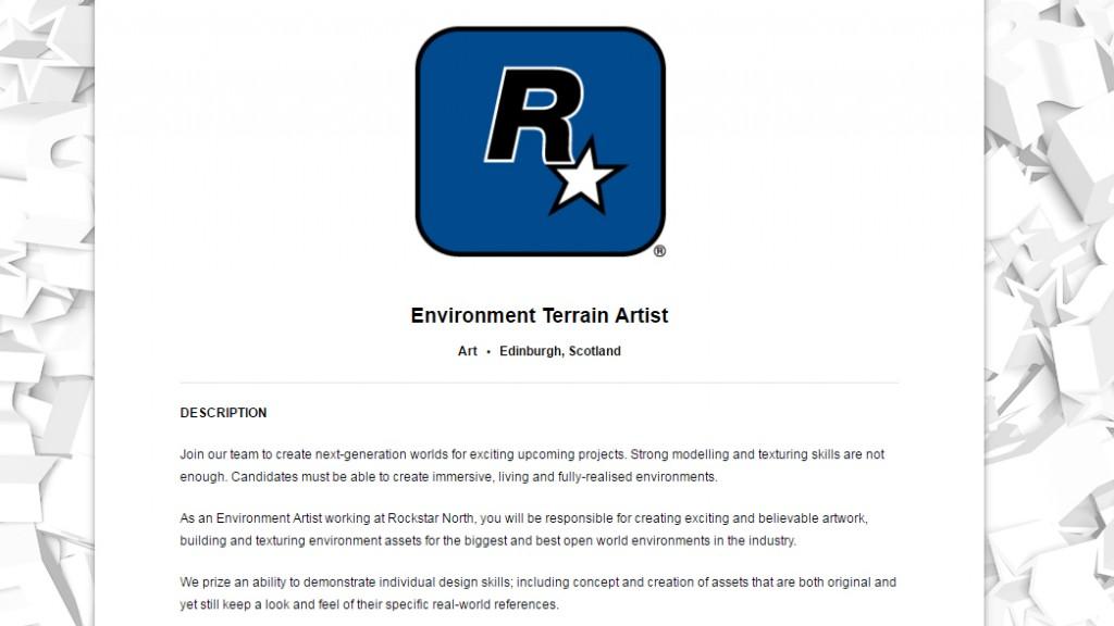 Rockstar начали активную разработку GTA 6