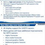 Точные характеристики PS4 Neo были слиты в сеть
