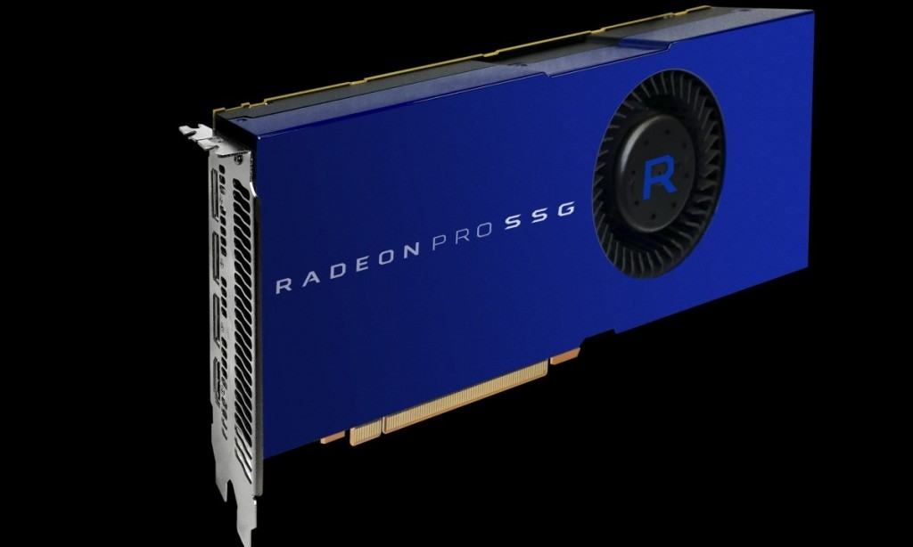 AMD представили Radeon Pro SSG c 1Tb памяти