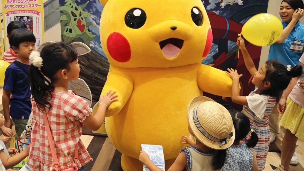 Pokemon Go вышла в Японии и подняла акции Nintendo