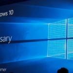 Anniversary Update для Windows 10 выйдет в августе