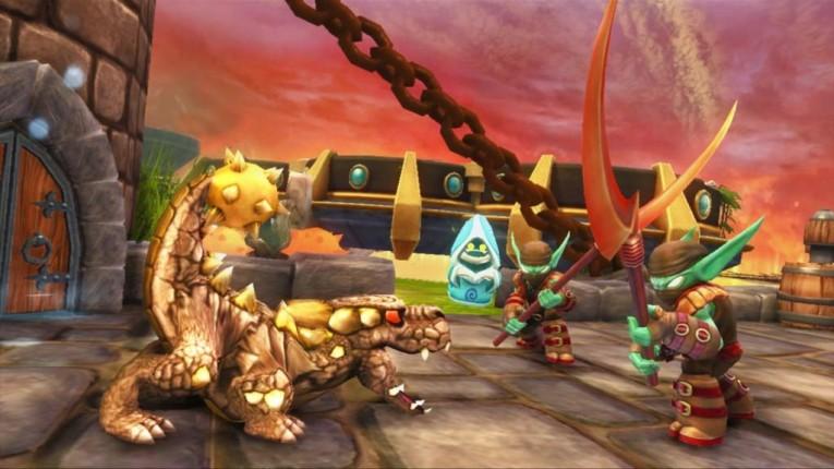 Скриншот из игры Skylanders: Spyro's Adventure