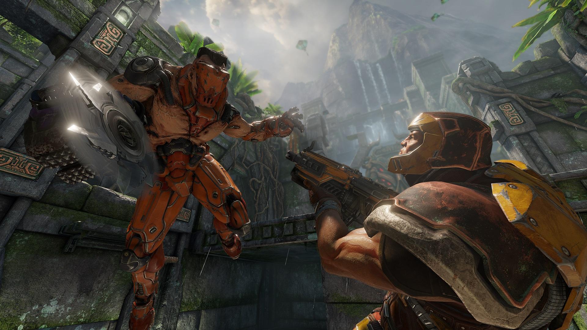 Стали известны новые детали Quake Champions