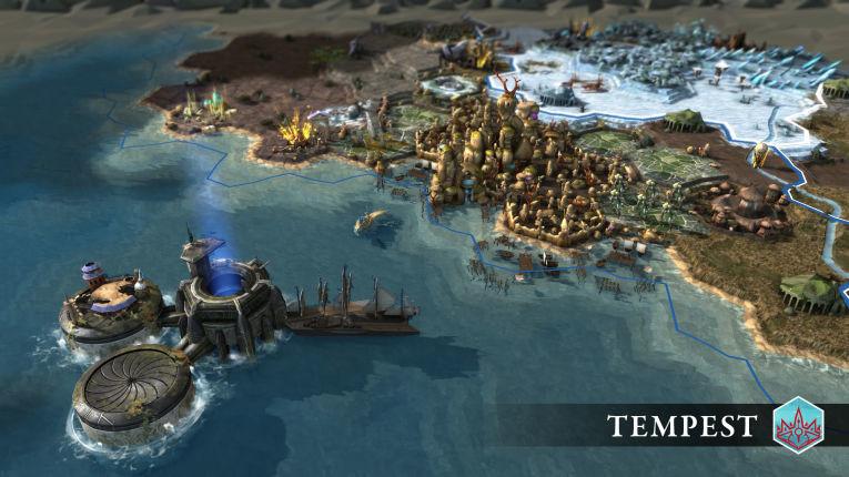Новое расширение для Endless Legend - Tempest и боевые действия на море