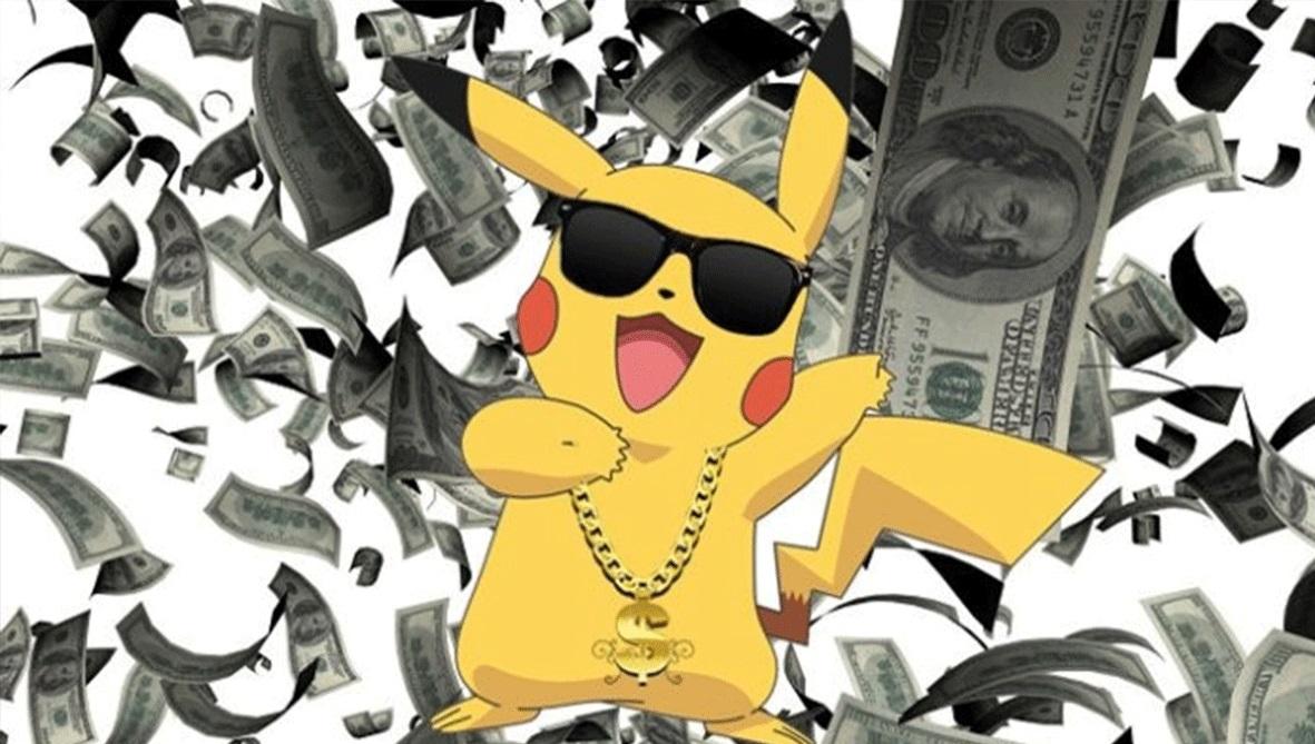 Pokemon Goзаработала более $200 миллионов запервый месяц