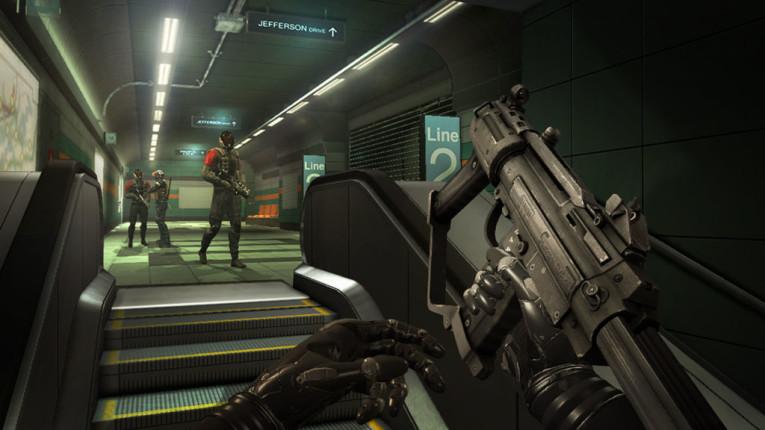 Скриншот из игры Deus Ex Human Revolution