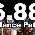 Патч 6.88c игры Dota 2 понижает характеристики наиболее выбираемых героев