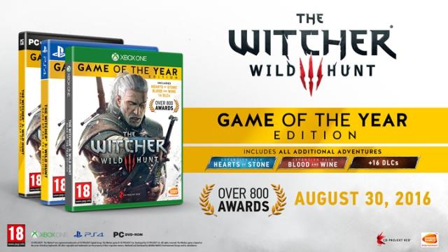 """The Witcher 3 в издании """"Игра года"""""""