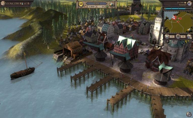 Игровой мир Patrician 4
