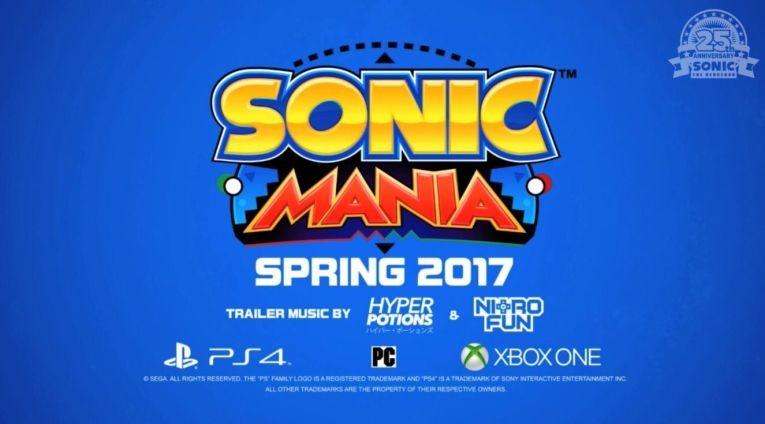 """Компания Sega весной 2017 года выпустит Коллекционное издание игры """"Sonic Mania"""""""
