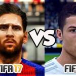 Роналду будет лучше Месси в FIFA 17