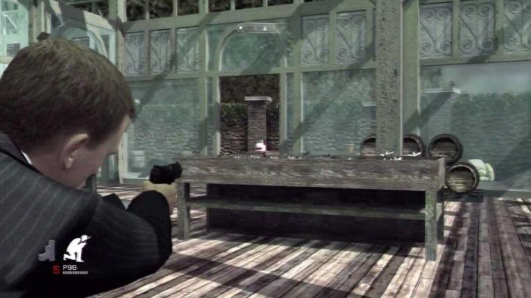 Скриншот из игры Quantum of Solace