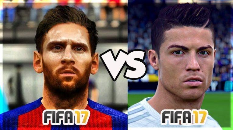Роналду сменил Месси в рейтингн лучшего футболиста в FIFA 17