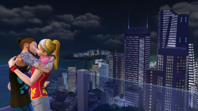 В The Sims 4 «Жизнь в городе» будут обновленные караоке-бары