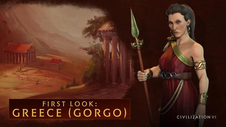 Царицу Спарты показали в новом трейлере Civilization 6