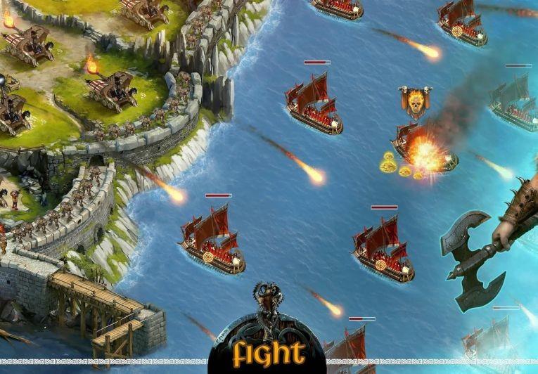 Обзор стратегии Vikings: War of Clans