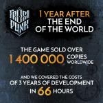 Frostpunk — разработчики отметили годовщину с момента выпуска ПК-версии градостроительного симулятора и рассказали об успехах игры