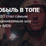 Сериал «Чернобыль» стал самым высоко оцениваемым шоу в истории IMDb
