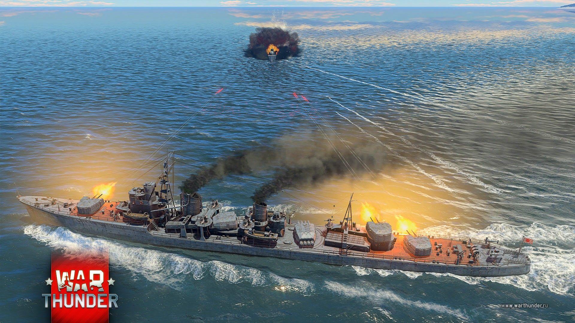 war thunder обновление корабли