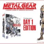 Анонсировано особое издание настольной игры по Metal Gear Solid