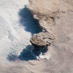 Потрясающий кадр извержения вулкана с МКС
