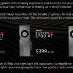 AMD официально подтверждает снижение цен на видеокарты серии Radeon RX 5700