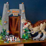 LEGO выпустила набор «Парк Юрского периода» по оригинальному фильму