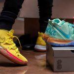 Nike выпустит кроссовки в расцветке мультфильма «Губка Боб Квадратные Штаны»
