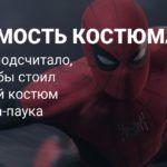 Сколько могли бы стоить костюмы Человека-паука в реальности