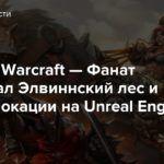 World of Warcraft — Фанат воссоздал Элвиннский лес и другие локации на Unreal Engine 4