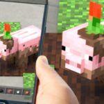 Жжём кубическую свинью друга — геймплейный ролик Minecraft Earth к запуску закрытой «беты»