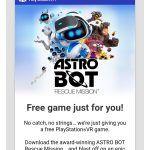 Astro Bot Rescue Mission – Sony рассылает бесплатные копии