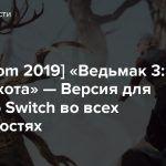 [gamescom 2019] «Ведьмак 3: Дикая охота» — Версия для Nintendo Switch во всех подробностях