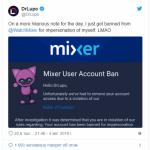 Известного стримера Fortnite забанили на Mixer