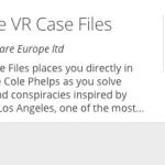 L.A. Noire: The VR Case в скором времени может выйти на PS4