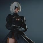 Сексуальная андроид против зомби — новый мод добавил героиню NieR: Automata в ремейк Resident Evil 2