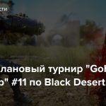 """Стрим: Клановый турнир """"GoHa Guild Cup"""" #11 по Black Desert"""