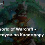 Стрим: World of Warcraft — Путешествуем по Калимдору