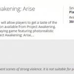 Project Awakening — пробная версия масштабного ролевого экшена Cygames для PlayStation 4 засветилась на сайте PEGI