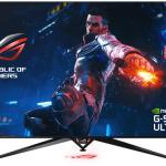 ASUS объявила о скором поступлении в продажу 65-дюймового игрового монитора ROG Swift PG65UQ