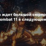 Игроков ждет большой сюрприз по Mortal Kombat 11 в следующем году